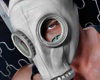 RUSSIAN GASMASK – GREY